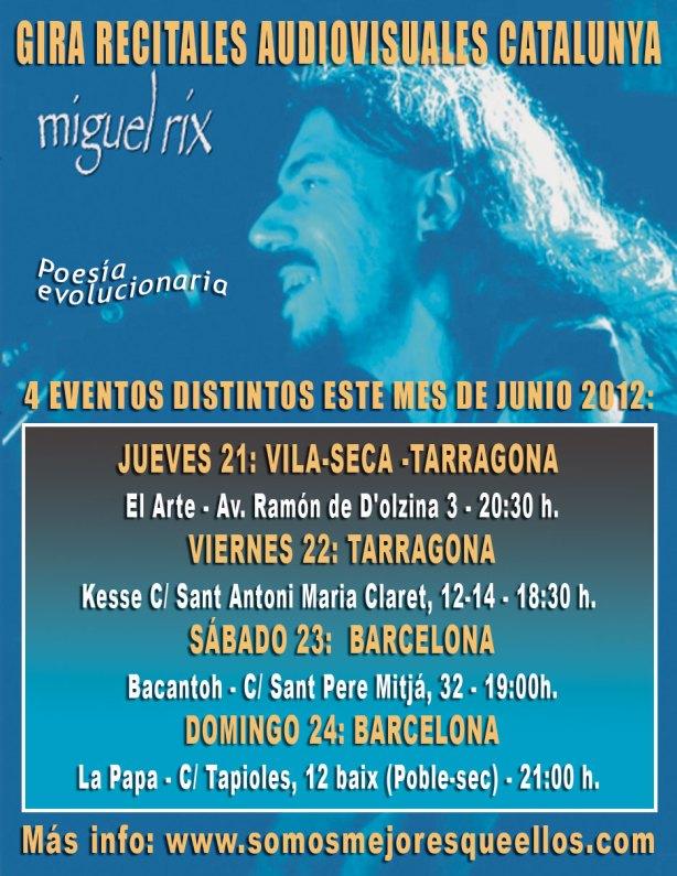 Miguel Rix en Cataluña