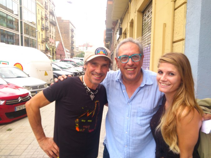 Manu Chao y Miguel Celades