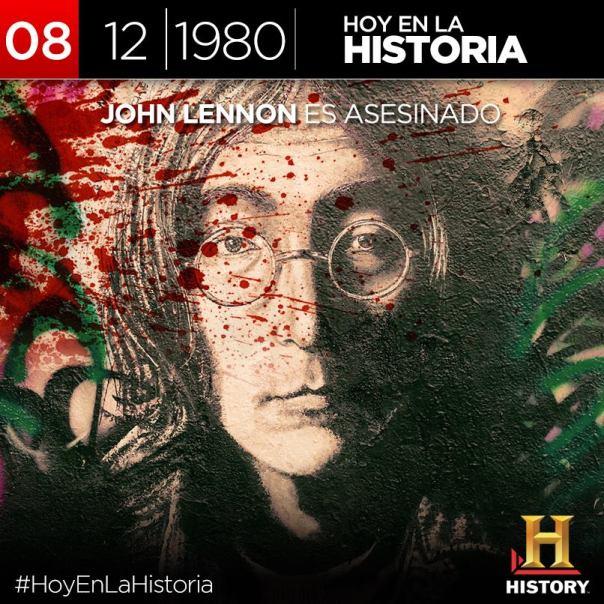 Hoy 8 de Diciembre, triste dia para la música: John Lennon fué asesinado por un MK Ultra